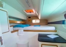 Caribbean kite cruise catamaran cabin