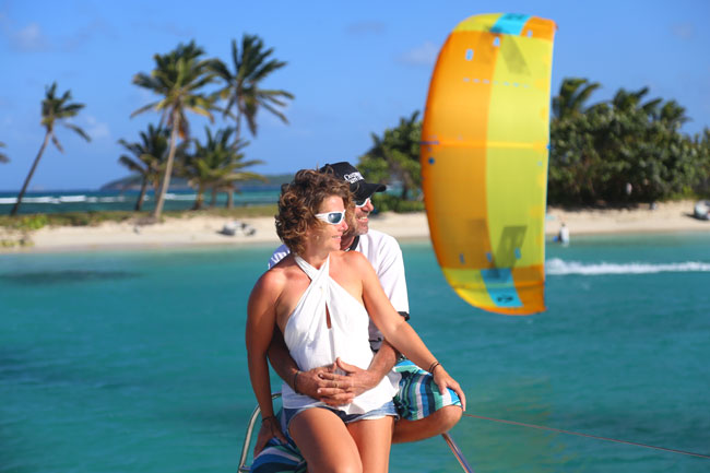 Cabin Cruises Kite Vacation in Grenadines