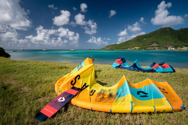 Duotone Kite Gear in The Grenadines