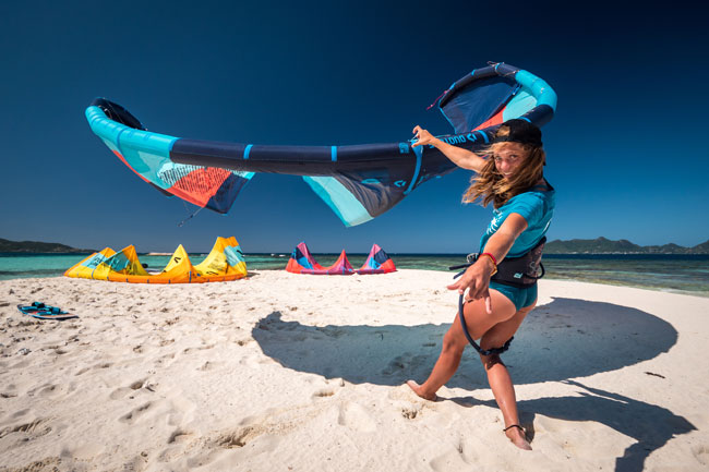 Duotone kitesurf gear for rent