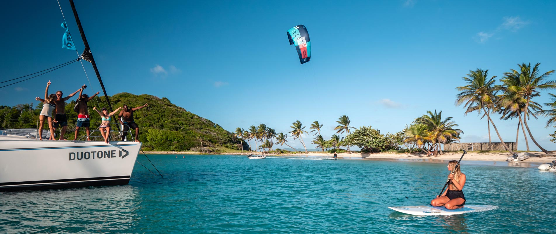 Family Kite Trip in The Grenadines