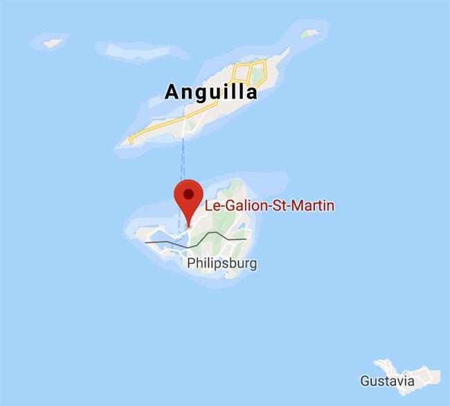 Galleon Island Map