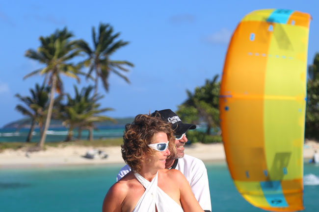 Kiteboarding Cruise in the Grenadines