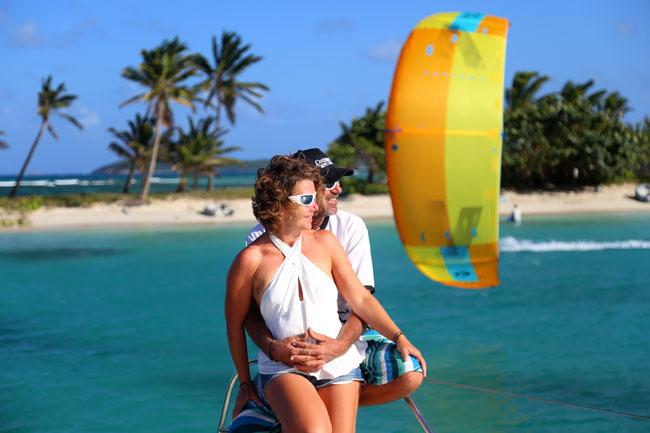 Honeymoon Kite Vacation in Grenadines