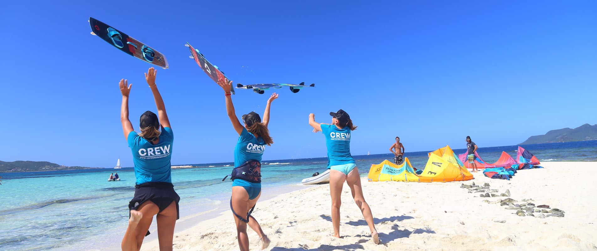 Kite Camp in The Grenadines