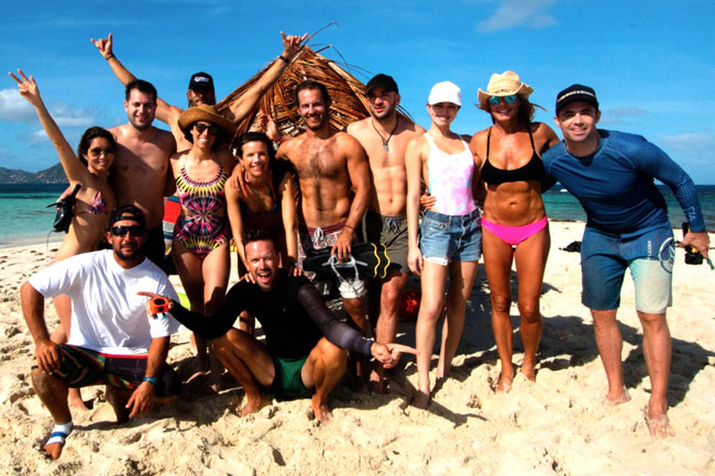 Kiteboarding Cruise Networking