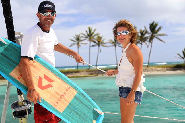 Kiteboarding cruise in St. Martin & Anguilla