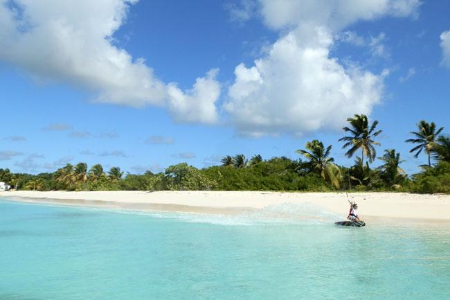Kitesurfing in the Caribbean St Martin & Anguilla