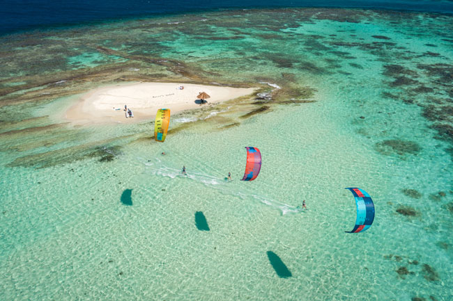 Mopion Island Kite Spots Petit Saint Vincent