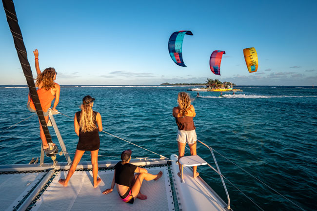 Private Catamaran Kite Trip in The Grenadines