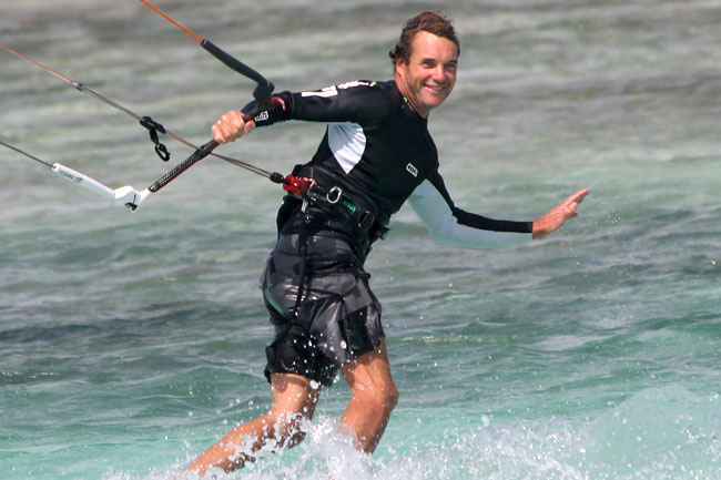 Richard CEO Caribbean Kite Cruise