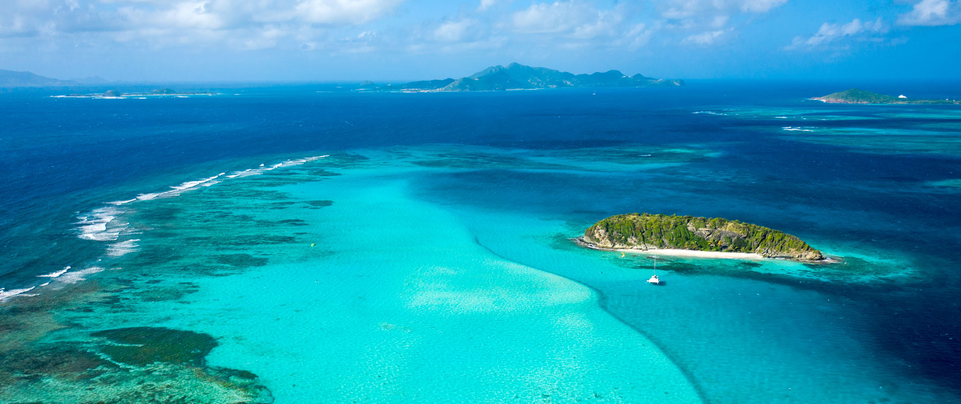 Tobago Cays in the Grenadines